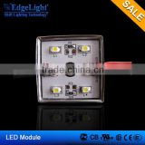 Edgelight 110LM 5050 SMD 5LEDs LED Module warm white Waterproof Light Advertising lamp DC 12V Wholesale
