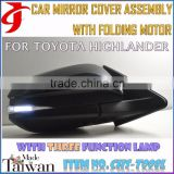 Body Kit FOR TOYOTA HIGHLANDER Automatic Covers AUTOMATIC CAR ASSEMBLY