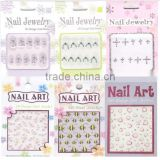 12 tips nail art stickers fish animal design Nail Accessories/ high quality products made in china