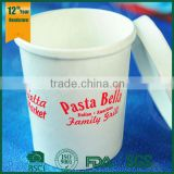 Hot Disposable Paper Cups, Noodle Container, Soup Cups with Paper Lids                                                                         Quality Choice