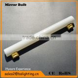 s14s 35w 2700k 200lm 30*300mm glass tube bathroom filament mirror light/vanity mirror led light