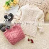 2014 new fashion baby wool sweater design cute baby girl