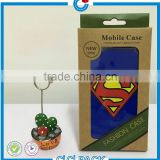 Free Sample Custom Printed Mobile Case Paper Box Packaging For iphone 6 Case                                                                                                         Supplier's Choice