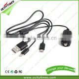 Competitive Price e cigarette battery charger Best Quality multi-function usb charger cable