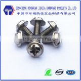sus304 pan head shoulder screw washer head screw m3*14