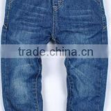 rib waistband kids denim trousers school uniforms boys denim jeans pants China manufacturer