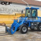china alibaba wheel loader small snow vehicles with snow remove tools zl12f