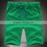 Wholesale dry fit cottom cotton short pants and mens joggers with top quality sports short pants