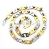 Hot Sales Charming Stainless Steel Chain Necklace Fashion Jewelry