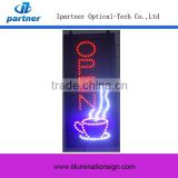 Super Light Vertical LED Open Sign