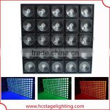 Hot 25*10W/30W RGB or warm white flexible led matrix scan light