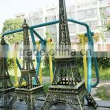France Souvenir eiffel tower Figurine Statue Antique Home Decors Vintage