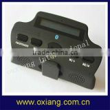 bluetooth handsfree car kit With electric torch ,At the same time with two mobile phones OX-BC-818