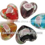 Handmade Silver Foil Glass Beads, Buy Murano Charms(FOIL-Y004-M)