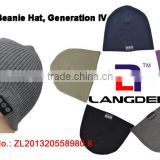 singing Cashmere bluetooth christmas hat