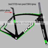 Road bike frame weight less 900g,carbon road bike frame China, BB386/BB86 bottom bracket road frames dengfu company