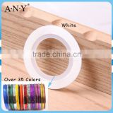 ANY Nail Beauty Curing Decorative Line Sticker 24M White DIY Nail Tape Self Adhesive