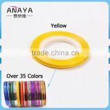 ANY Plastic Nail Rolls Striping Tape Line DIY Nail Art Tips Decoration Sticker Nails                                                                         Quality Choice