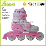 Foshan Beca wholesale new design kid aggressive inline skate with certificate