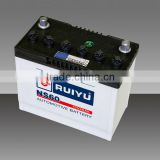 2013 hot sale battery cell dry battery car /truck /auto battery