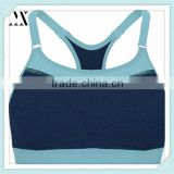 2016 Wholesale OEM Fashion Custom Women Sport Bra With Smooth Molded Cups Sport Bra