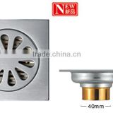 Insect prevention cast iron china concrete sanitary shower polished cast iron floor drain
