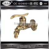 South American Antique Style Hot Selling Water Tap Wash Basin Valve Brass Bibcock