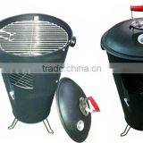 Trash Can BBQ grill bbq garbage bin smoker grill Bucket Barbecue