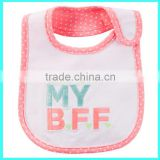 Low price My Aunt's My BFF embroidered baby bibs drool bibs for babies baby drooler bibs