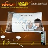 Promotional!! !Washable Plush Speaker Music Pillow - Sheep Lover CE SGS ROHS