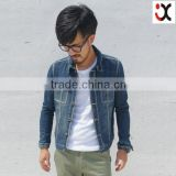 Hot sell jeans jacket for men branded denim Jackets western custom jean jacket (JXJ25847)