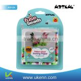 ARTKAL fuse beads 450 beads/box AS124 children intelligent craft toy plastic fuse beads for wholesale