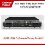 LA200 Professional dj amplifier price 150w ahuja amplifier professional power amplifier