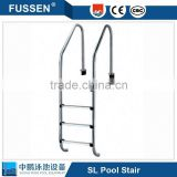 2016 hot sale special design domestic folding stainless steel ladder , steel folding ladder