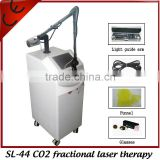 Vertical High Quality Fashion CO2 Fractional Spot Scar Pigment Removal Laser Therapy Beauty Equipment Skin Renewing Multifunction