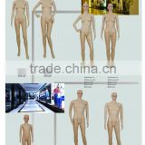 kids female male plastic mannequin