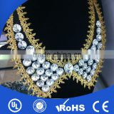 New fashion rhinestone beading neck trim