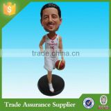 Factory Resin Figurine Basketball Player Bobble Head