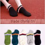 Men's/Boy's Ankle Sport Socks Shock Dry Low Cut Black White Pack