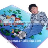 large rubber play blanket 4mm thick , ABC comfort sitting mat cushion for baby playing