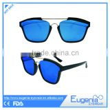 2016 square frame brand new fashion model new design sunglasses