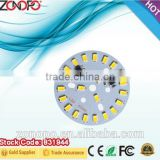 12w low price bulb down light pcb board with 2835 led high power warm white aluminum led pcb