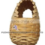 super cheap bamboo woven/weaving bird house/bird nest