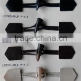 PU leather toggle buttons for coat