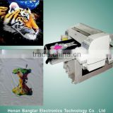 CMYK Industrial Fabric/T-Shirt Printer Machine in Stocks for Sale,Automatic Digital Colorful t shirt Printing Machine Price