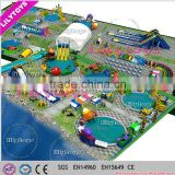 giant water park inflatable commercial water park, costumized giant water park , water games playground