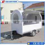 Portable Mobile Kitchen Truck Food Van Cars trailer for snacks beverage