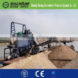 shuiwang sand sieving machine and river sand extration equipment with good effect