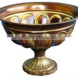 Metal Bowls, Garden Bowls Planters, Table Top Bowls