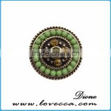 Made In China Snap Buttons,Custom Snap Buttons with seed beads,Classic Accessories Snap Button Jewelry
